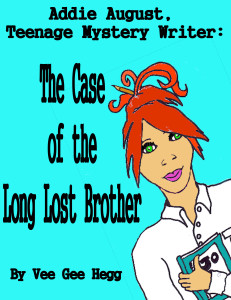Case of the Long Lost Brother, cover art by Alina Bradford.