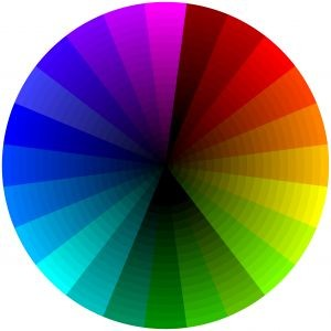 Color wheel by Peter Miller.