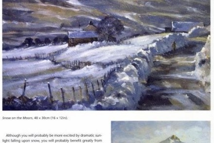 Painting Landscapes in Oils example