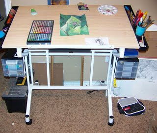 drafting table for art projects