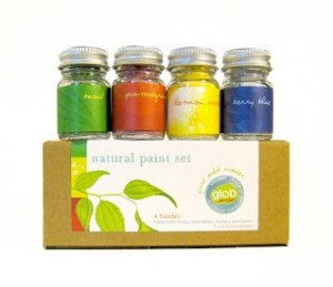 glob natural paint set